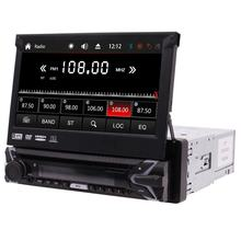 Universal 1 Din 7inch Touch screen Car Stereo DVD Player GPS Radio With Detachable Panel + Free 8G Map