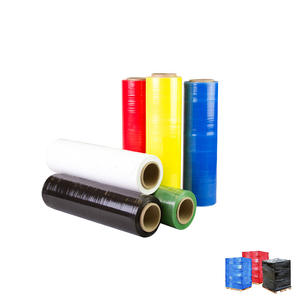 China factory moisture Proof plastic pe pallet color strech film for wrapping