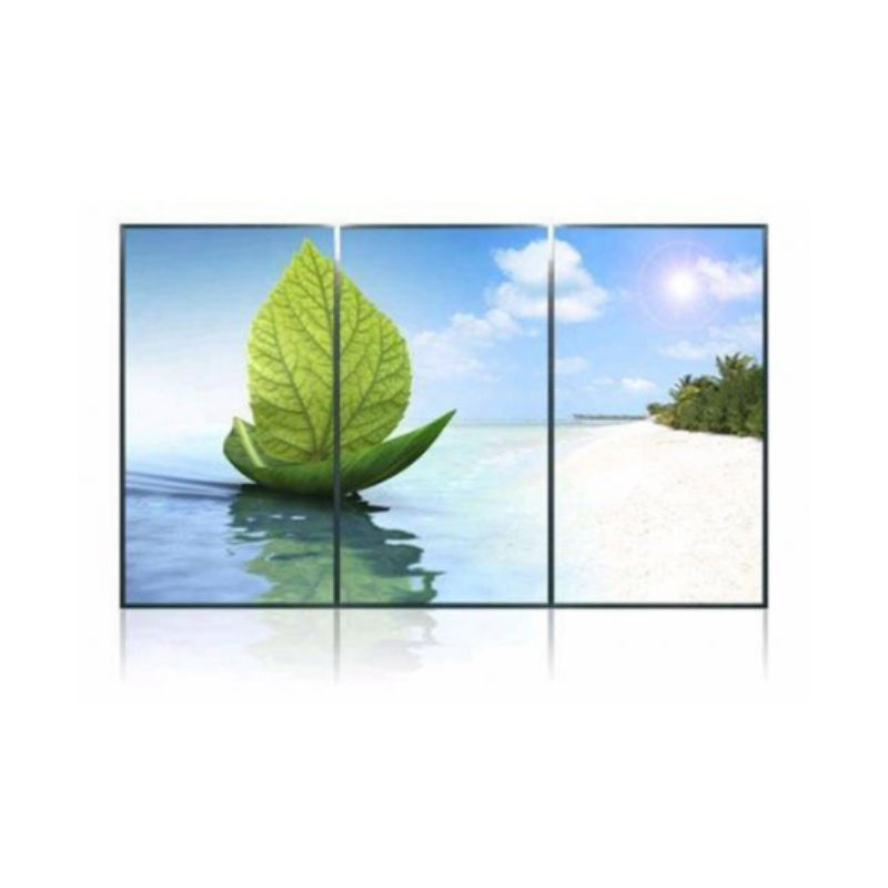 Manufacture wholesale 55inch 3.5mm 3*3 splicing large screen lcd video wall