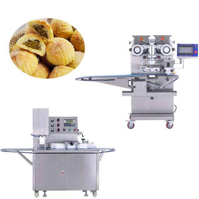 High speed Automatic Maamoul Mooncake Production Line Food Making Machine For Sale