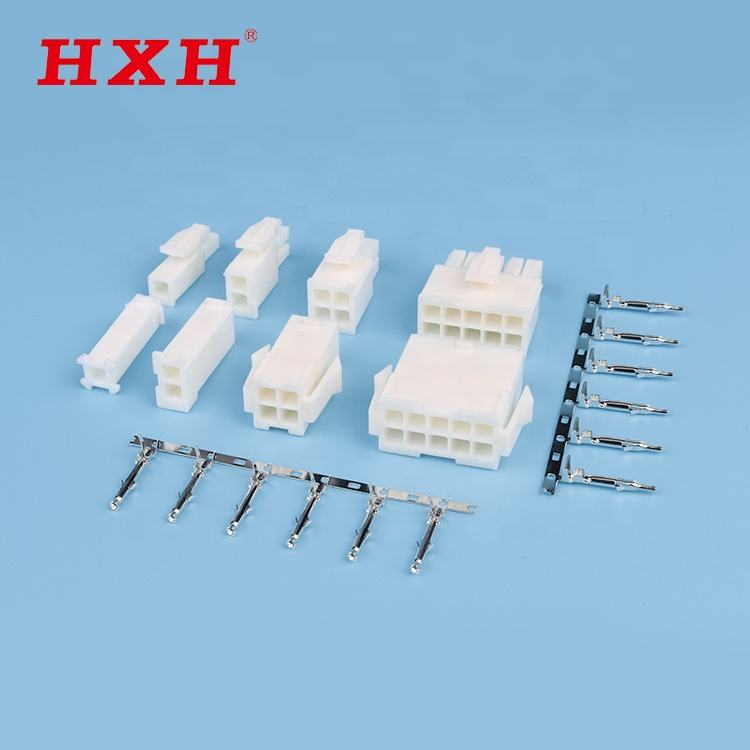FL HXH wire to wire connector Hot sale 4.14mm pitch
