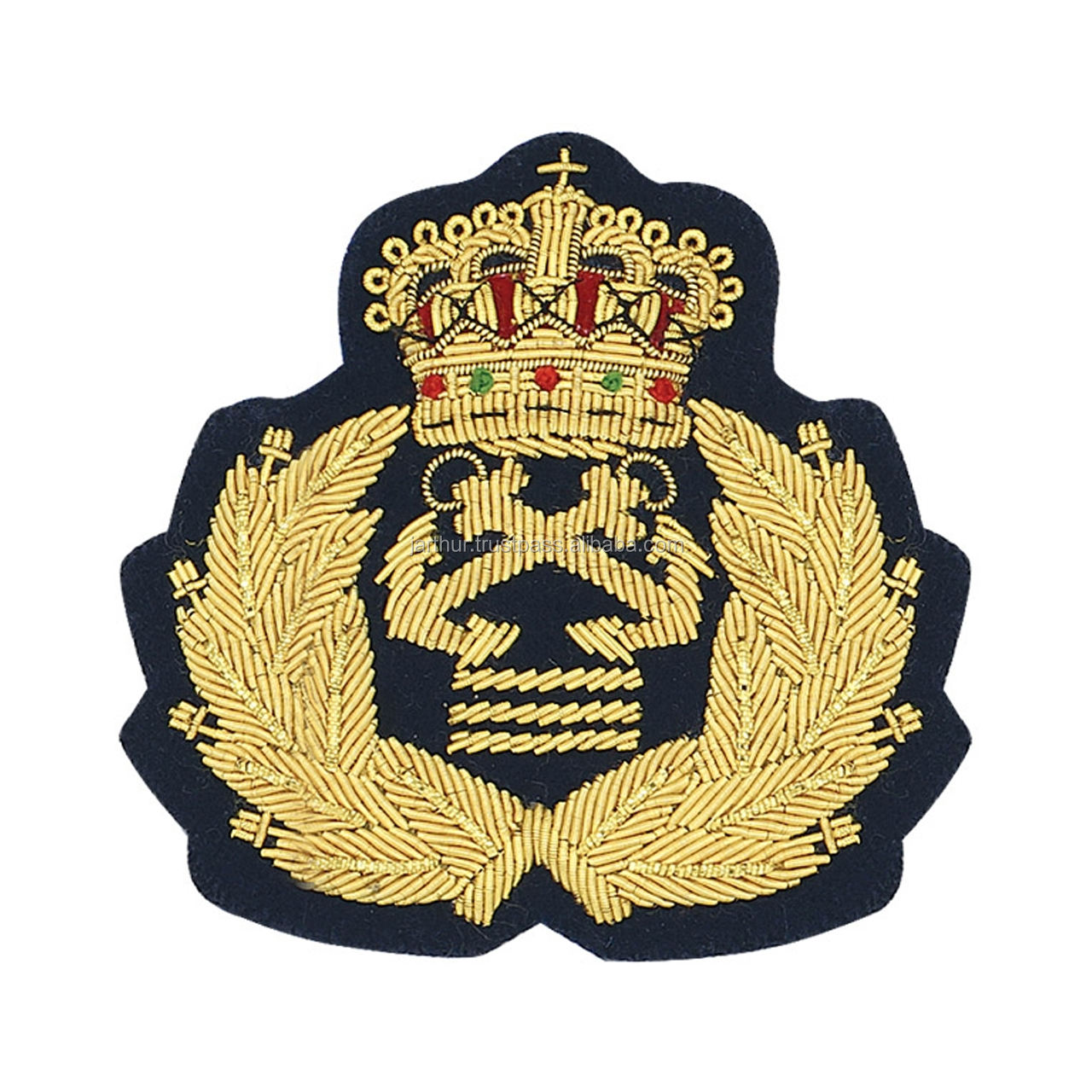 navy military badge officers style