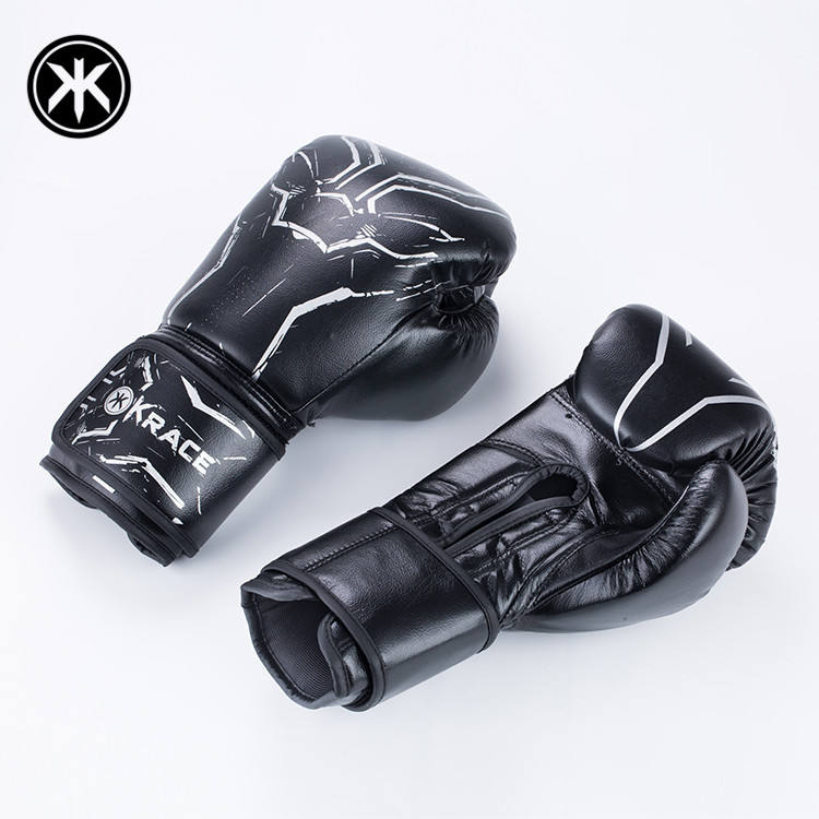 Krace 2020 Wholesale New Professional Manufacturer Custom logo Leather Sports Boxing Gloves For Power Training