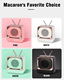 Bluetooth Speaker Surround Bluetooths 2020 New Arrival Cute Bluetooth Mini Speaker Wireless Square USB 3D Surround Retro Cute Wireless Portable Heavy Bass
