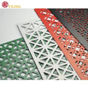 oval perforated metal mesh perforated copper sheet