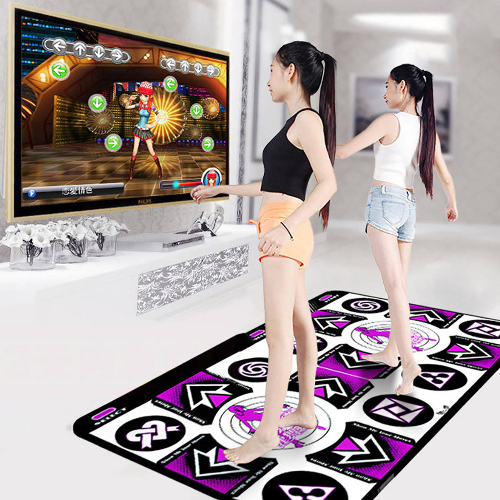 New Design Double Adult Non-slip Rubber PVC Dance Mat for Dancing