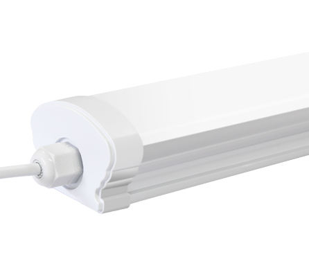 2835 waterproof led tube light microwave sensor tubular round ip65 housing fluorescent fixture 4ft 26w 40w led tri-proof light