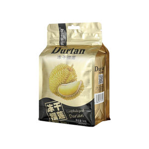 Delicate smooth chocolate covered Crispy freeze dried durian