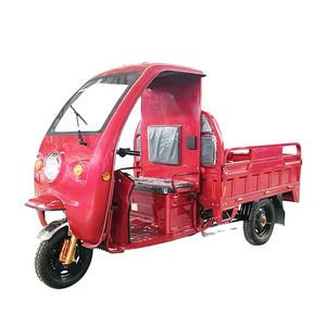 DC Motor 1000W 3 Wheel Electric Cargo Tricycle with 1.5m Cargo Box