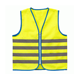 100% polyester en 1150 european traffic fluorescent high visibility kid child reflective safety wear vest