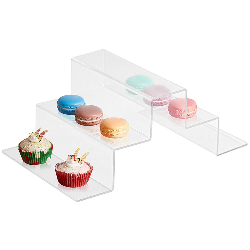 Acrylic food display green pink black with factory prices