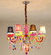 Modern kids room chandeliers bedroom children hanging lamp indoor girls room