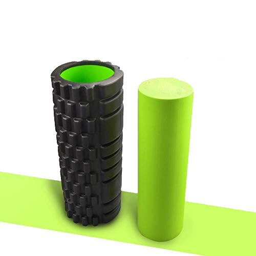 Eco Vriendelijke Spier Massage 2 In 1 Set Rooster Eva Foam Roller Effen Eva Foam Roller Set