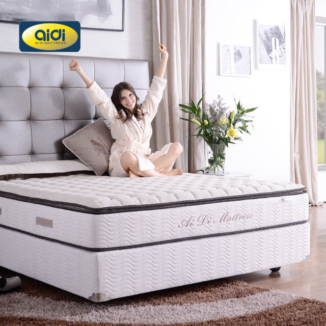 AIDI OEM/ODM mattress Matras buy cheap 8 inch hotel sponge white queen mattress with box