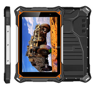 Cheapest Factory 8 inch android rugged tablets 2G+32G (4+64 optional) 4G network 4G LTE Military tablet pc with 10000mAh Battery