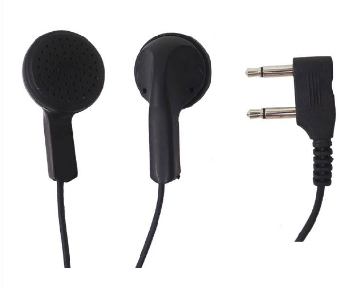 3.5mm Disposable Airline Earphone With Double pin