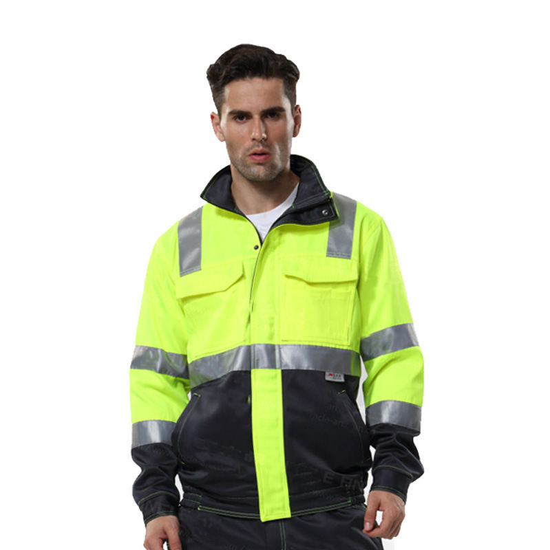 Hi Vis Work Wear Jacket Safety Workjackets Unisex coat reflective safety jackets uniforms