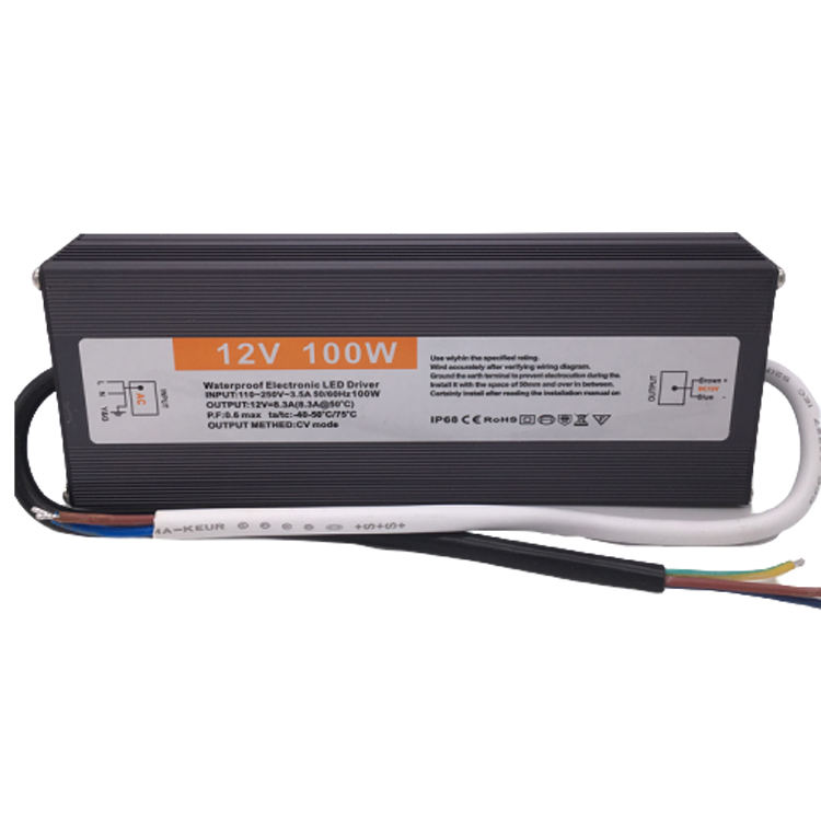 Led Driver [ Led Driver Transformer 12v ] Waterproof IP68 For 24v 8.3a LED Driver Industrial Power Transformer Slim Switching Power Supply 12v 100w