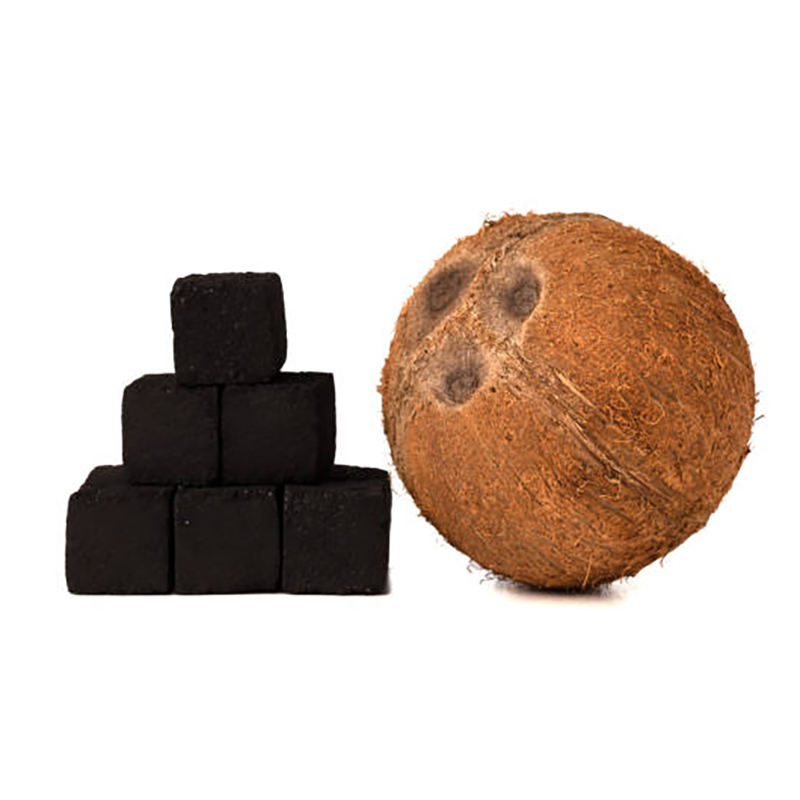 Quick light natural indonesia cube coal coco price coconut shell shisha hookah charcoal