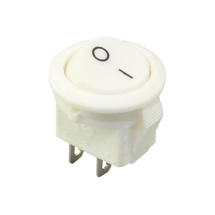 KCD5-101-2 small mini round rocker switch