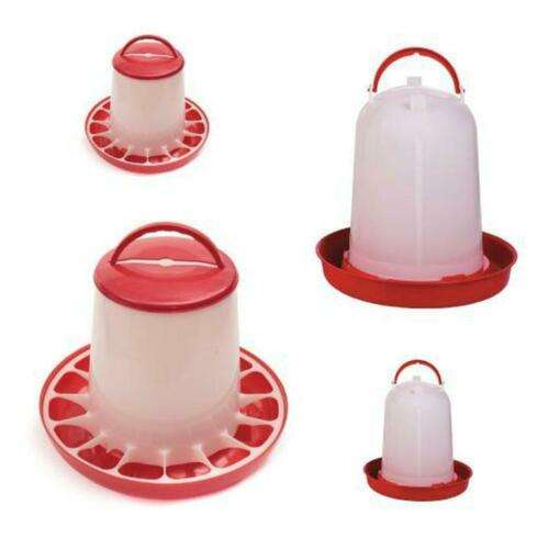 Poultry Chook Hen Waterer Water Dispenser Bucket