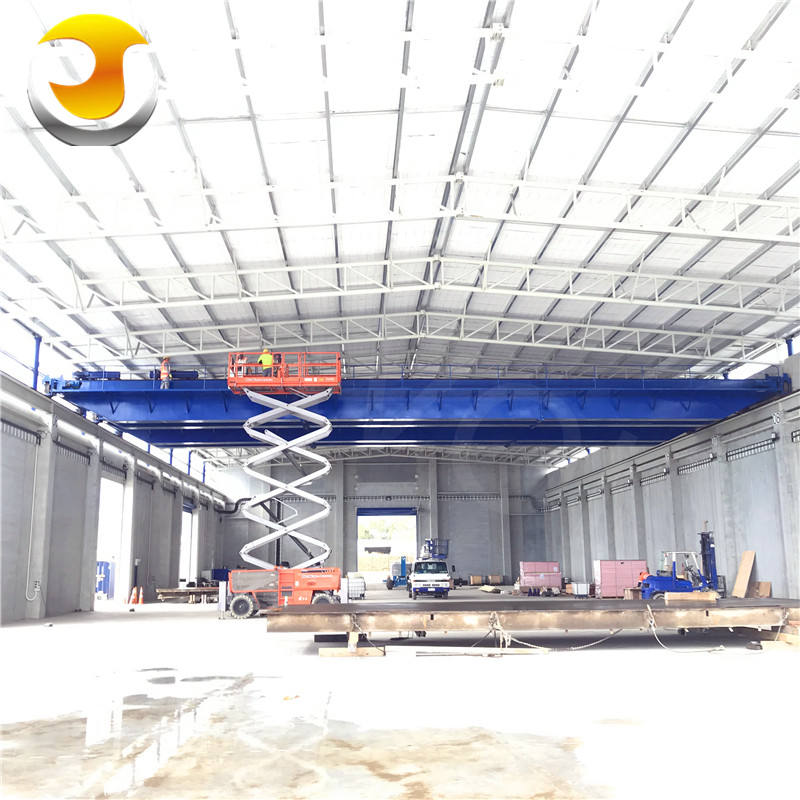 Electric Hoist 10T double girder overhead traveling crane