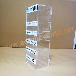 Clear Acrylic USB Cable Display Cell Phone Accessory Charger Display
