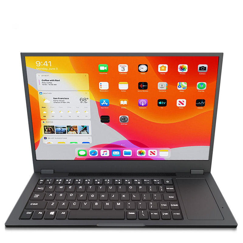 New Design With Keyboard Touch Pad 14inch Ultra Slim IPS Screen HD 1920*1080 Computer Monitor Gaming Portable Monitor