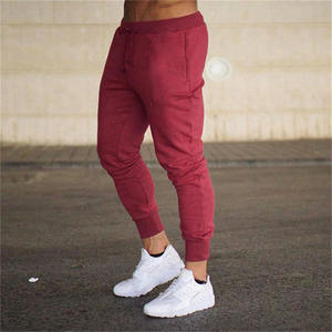 2020 custom your own logo sweatpants men gym running cargo jogger track drawstring pants wholesale for adult
