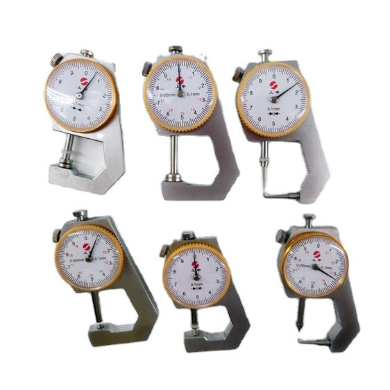 0-10mm Dial Thickness Gauge Leather steel pipe or pipe fitting Thickness Meter