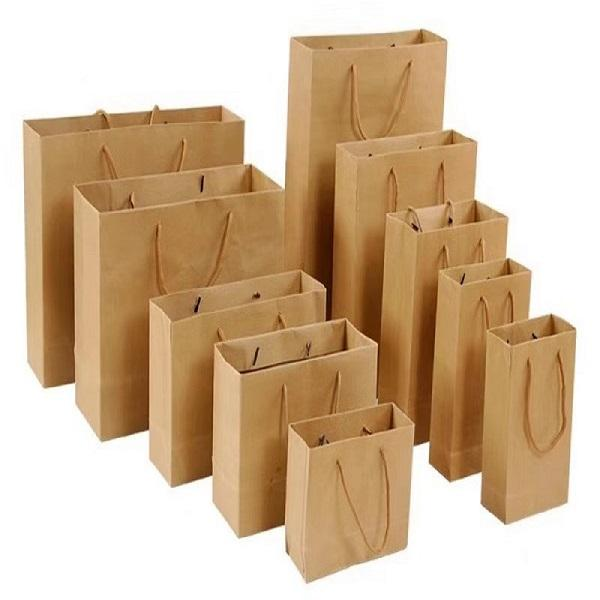 China Manufacturers Custom Printing Food Eco friendly Cheap Paper Type Kraft Paper Bag