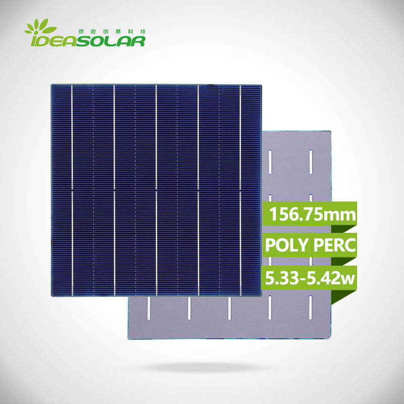 China gute pricepolycrystalline Black silicon PERC solarzelle