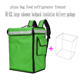 Ice Cooler Bags Delivery Bag 42L/58L Insulation Ice Cooler Box Waterproof Oxford Food Delivery Bags With EPP Inner Panel