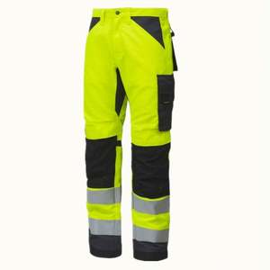 High Quality Custom Reflective Apparel Cargo Workwear Waterproof Clothing Trouser Hi Vis Work Pants