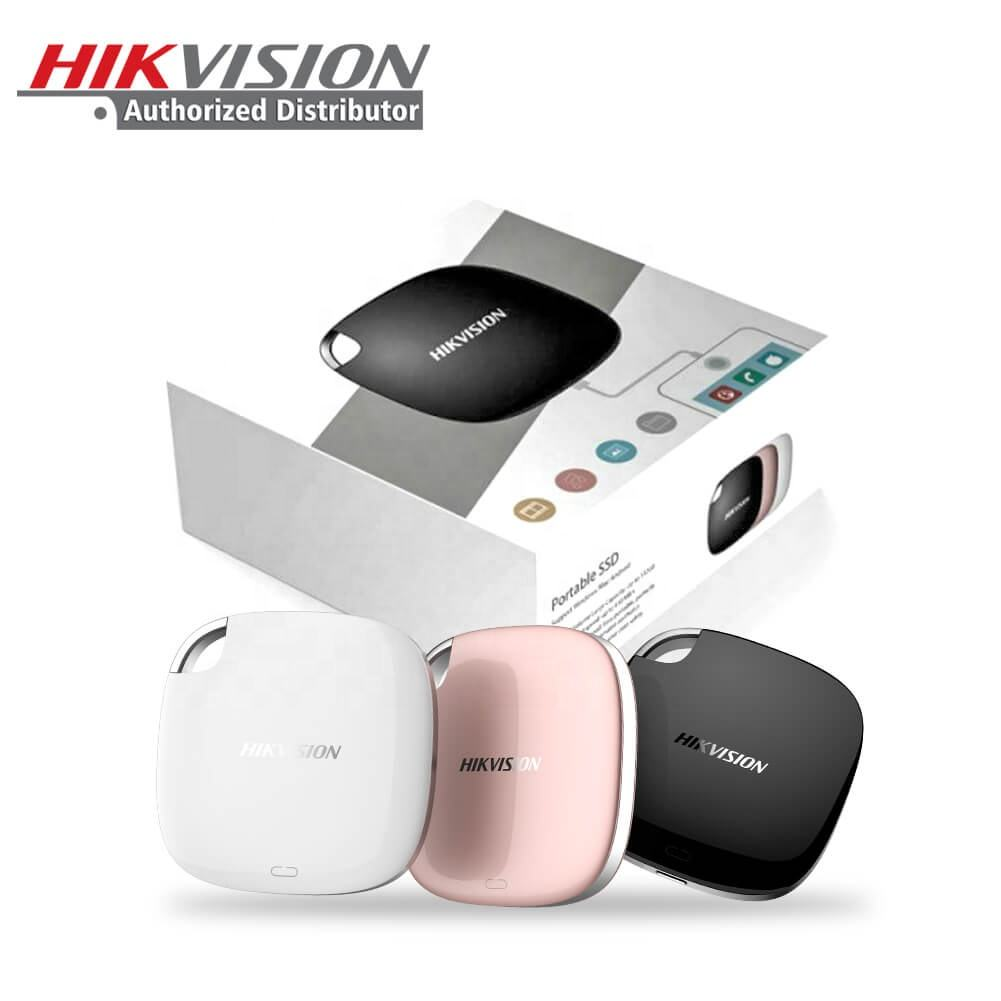 Hikvision OEM Branding Stylish Mini T100 Exterior HD Hard USB3.1 Type C 120 240 480 960 1920 GB Externe Solid State SS