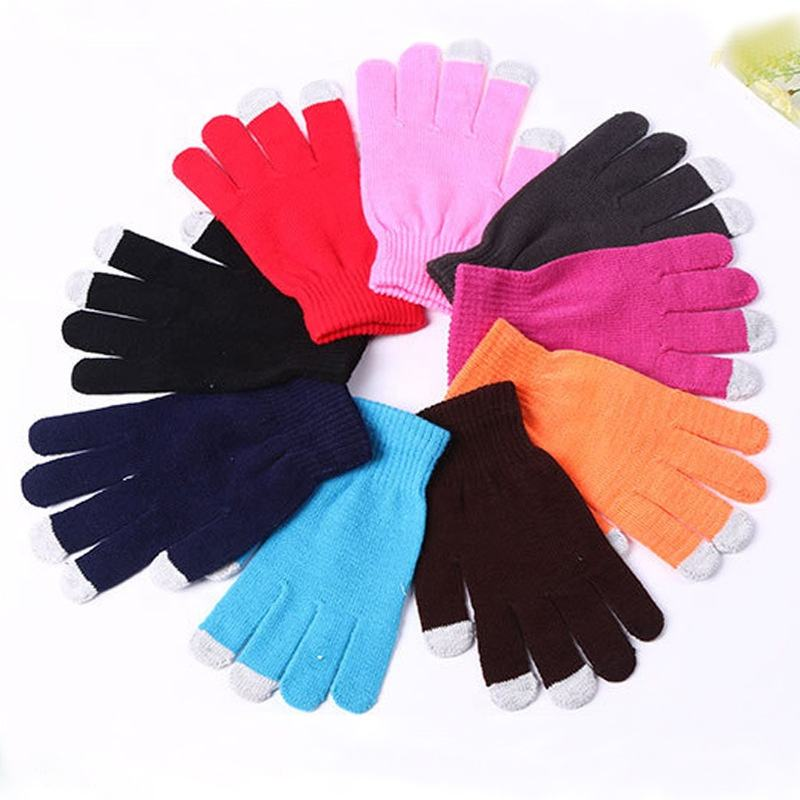 Cheap Mens Winter Thermal Gloves Warm Winter Gloves Touch Screen for Women