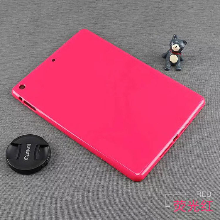 Stock Goods Smart Key Matte Edge Transparent Clear Soft TPU Silicone Tablet Back Cover Case For Samsung Tab Note N8000 10.1