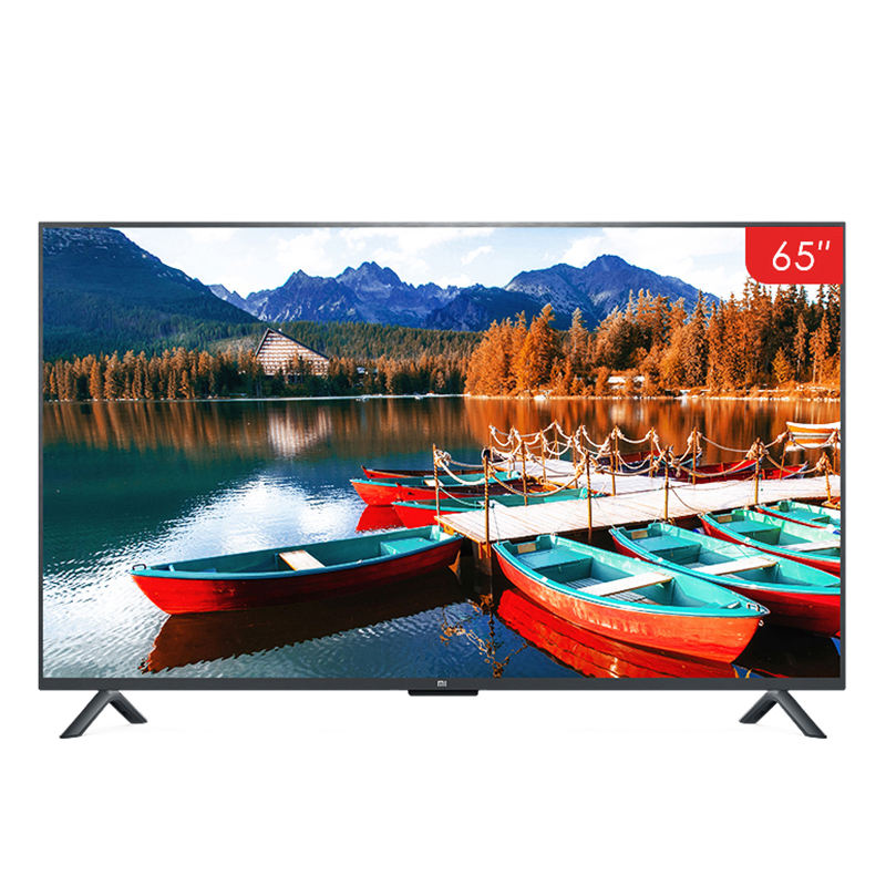 Televisione Xiao Mi <span class=keywords><strong>TV</strong></span> Android Smart <span class=keywords><strong>TV</strong></span> 4S 65 pollici 4K QFHD Schermo <span class=keywords><strong>TV</strong></span> <span class=keywords><strong>Set</strong></span> WIFI Ultra-sottile 2GB + 8GBsound