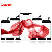 Calisoon Touch Screen Replacement for iphone 5 5s 6 6s 6 7 8 plus X LCD display Digitizer Assembly