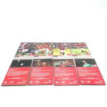 Custom Printing Game cards High Quality Trading Cards Popular Football Star card with shrink wrap factory in China