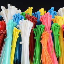 Good Reputation High Quality Nylon Cable Tie Size With Label