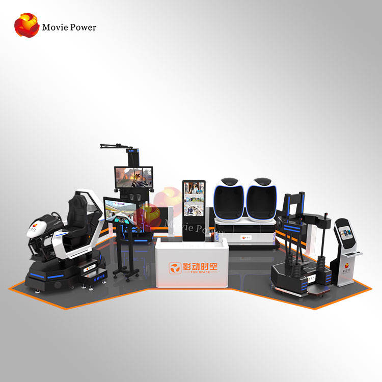 China Factory 10-700m2 Virtual Reality World Game Video Machine Amusement Park Play Zone VR Theme Park Customized Design