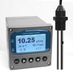 Pure Water Treatment Conductivity TDS Inline TDS Sensor 1000 PPM In Line Meter Panel