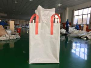 High Quality PP 1 ton jumbo bag for Charcoal Rice Sand Asbestos Rubble