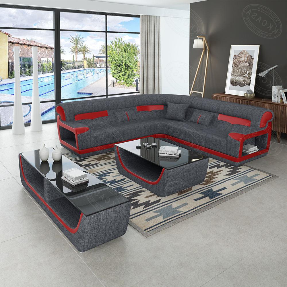 Nuevo y moderno diseño de Kk <span class=keywords><strong>Casa</strong></span> De cuero genuino muebles sofá en forma de L sofá de la esquina