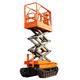 rock lifting equipment hydraulic scissor lift platform 8m height track crawler scissor lift