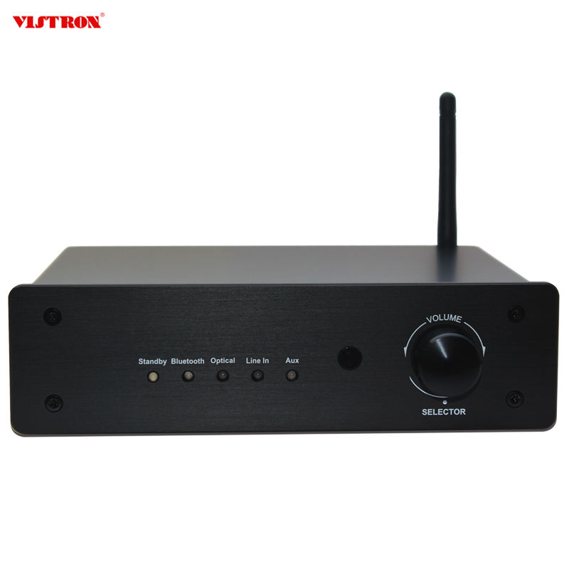 Hot Sale Stereo Audio Preamplifier With Bluetooth Remote Control System Audio For Home Sound Audio Amplifier
