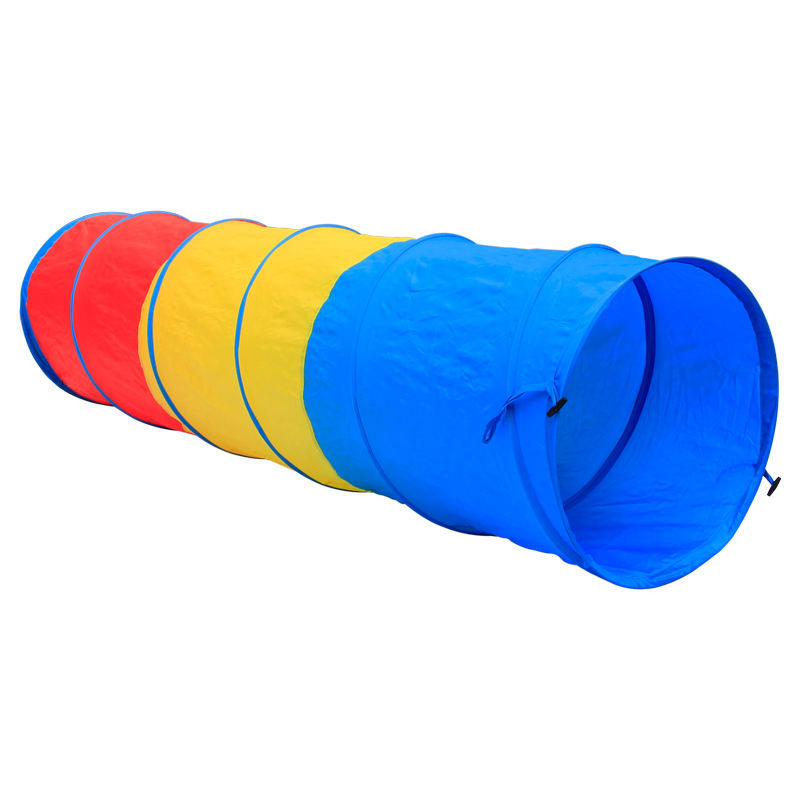 "Groothandel, Oem 3-Kleur Kids Pop Up Tent Tunnel, dia 48X180 Cm (19 ""X 71"") 210D Oxford Stof Kid Play Tunnel Tent"