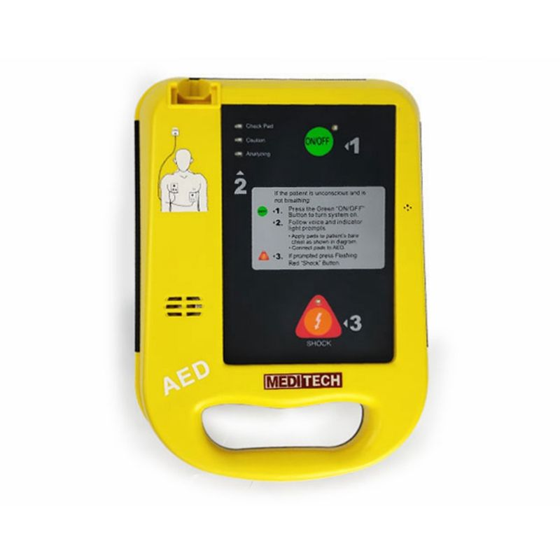 First aid emergency kit automatic external defibrillator CPR defibrillator monitor