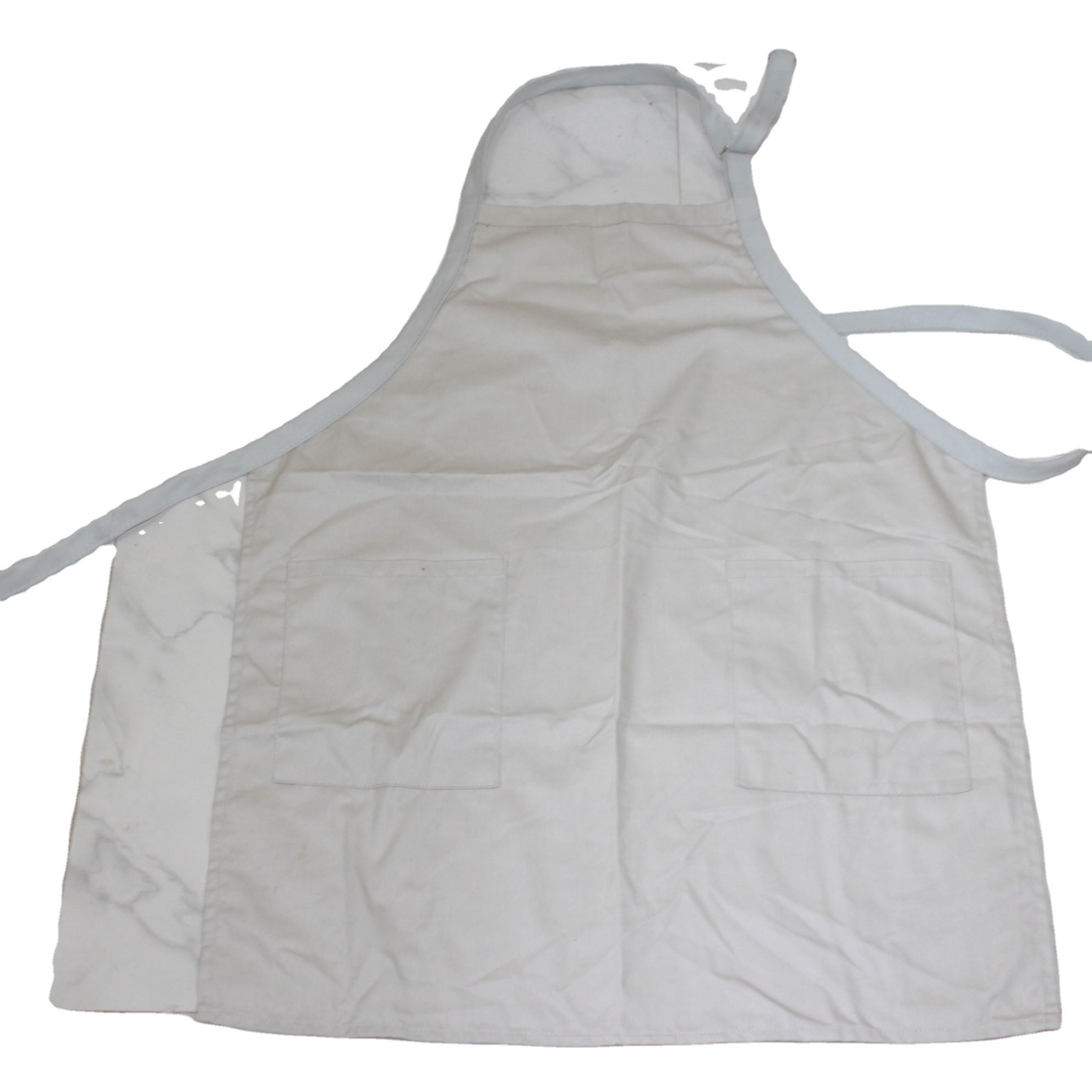 Promotional Logo Customized Muslin made Apron from original indian factory